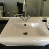 afwassen kan in de vaatwasser in de pipowagen deluxe bij buitengoed de gaard limburg