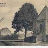 ansichtkaart ca 1920 anthoniusmolen, anthoniuskapel op de anthoniuslaan heythuysen