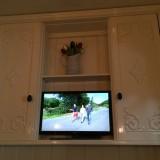 bedstee in pipowagen de luxe met tv in wandkast relax and enjoy!
