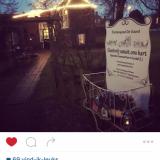 compliment van alex klaasen tijdens zijn verblijf in het vierseizoenenhuisje bij buitengoed de gaard maart 2016