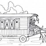 Kleurplaten Van Pipo De Clown.Kleurplaat Pipo Wagen Pipowagendeluxe Nl