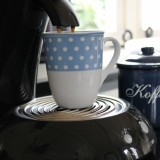 lekker kopje koffie uit het senseo apparaat