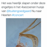 lief compliment van maaike widdershoven over haar verblijf in het vierseizoenenhuisje buitengoed de gaard