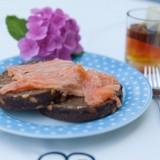 ontbijt met huisgemarineerde zalm buitengewoon goed van mélange heythuysen voor gasten buitengoed de gaard fotografie belinda keulen