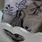 zachte washandjes óók inbegrepen bij de linnenservice