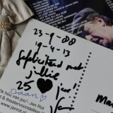 25 jaar getrouwd met felicitatie van daan en jan rot ik hou van jou arrangement