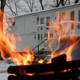 pipowagendeluxe hot-tub winter buitengoed de gaard