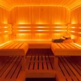 finse privé sauna gebouwd in pipowagen voor gasten van buitengoed de gaard vakantiehuis en pipowagens fotografie belinda keulen
