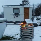 nieuwe finse sauna gebouwd in unieke pipowagen weide wereld wellness bij buitengoed de gaard