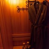privé sauna voor gasten van buitengoed de gaard weide wereld wellness fotografie belinda keulen