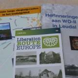 liberation route arrangement bij buitengoed de gaard aandacht voor bezetting, crashes en bevrijding WOII in leudal